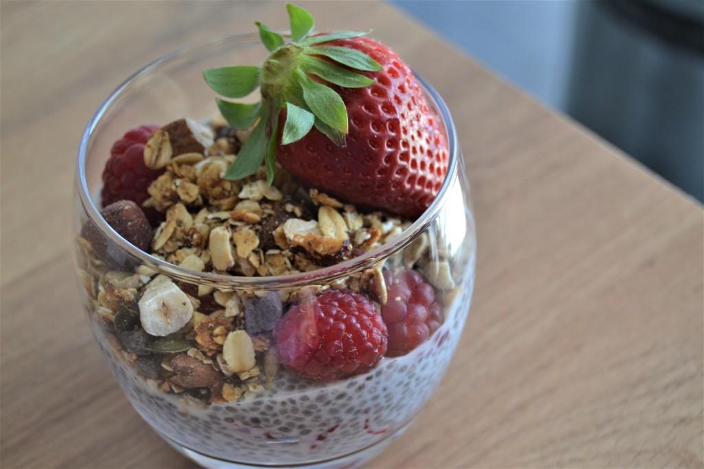 Verrine petit dejeuner healthy façon AnaBiott - Crédits photos AnaBiott